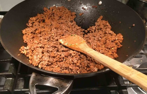 Sauteed Ground Beef